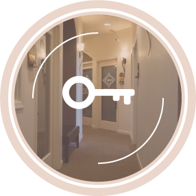 Your own private, fully-equipped suite for cosmetologists, estheticians, barbers, nail techs, and other spa services