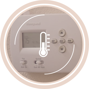 Your own thermostat for AC/HEAT. YOU control the temperature in your suite.